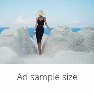 Ad sample size | The Escort Magazine